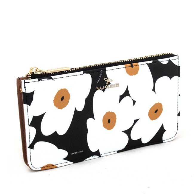 Wallet and purse Naj-Oleari with daisies, Baglicious