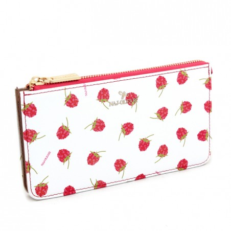 Wallet and purse Naj-Oleari with raspberries, Baglicious