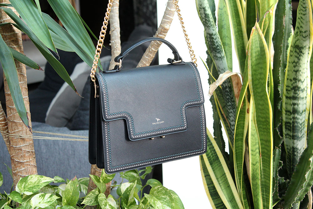 Shoulder bag Naj-Oleari Nadine collection